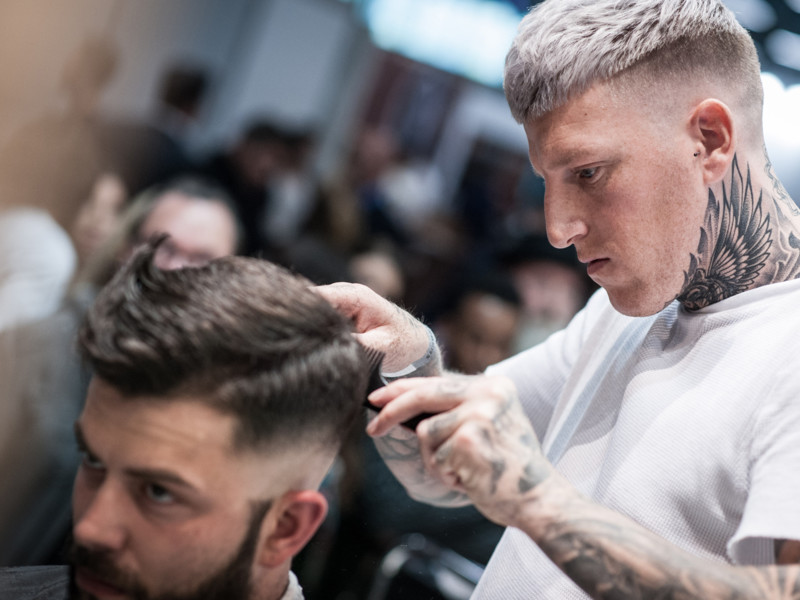 Belgische kapper Kevin Boon beste internationale barber
