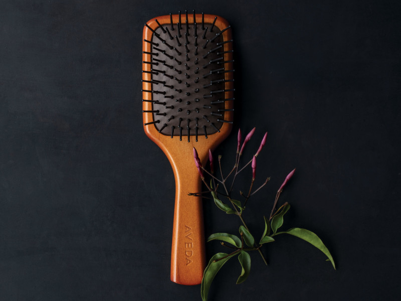 Mini Paddle Brush van Aveda